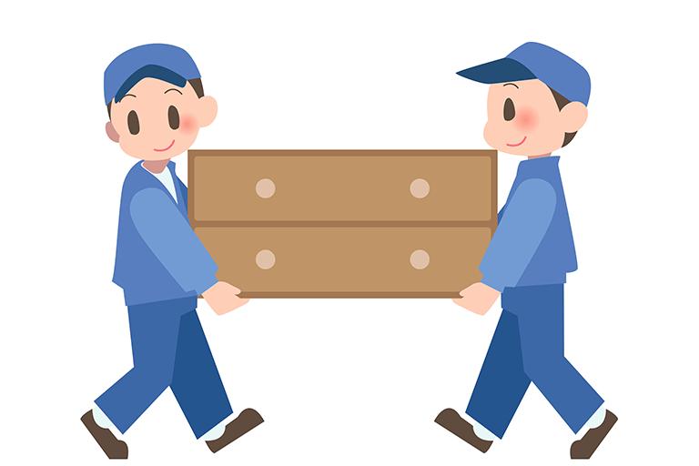 大きな家具を処分する