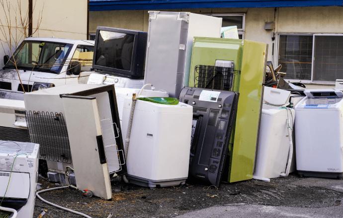 目黒区では家電製品の回収に注意